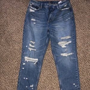 Abercrombie&Fitch Annie High Rose Girlfriend Jeans